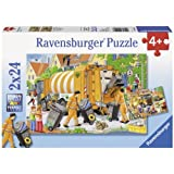 Ravensburger Trash Removal Puzzle 2x24pc,Children's Puzzles