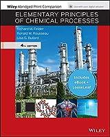 Elementary Principles of Chemical Processes, 4e EPUB Reg Card with Abridged Print Companion Set