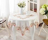 IVEGLA テーブルクロス テーブルカバー 食卓カバー デスクマット ヨーロッパ オレンジ
