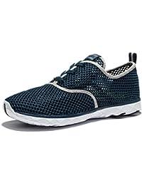 昌平メンズ通気性メッシュレースUpクイック乾燥Aqua水靴