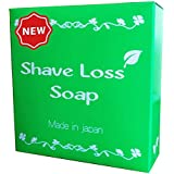 【NEW】Shave Loss Soap 女性の願いを叶える 石鹸 80g 「ダイズ種子エキス」 「ラレアディバリカタエキス」大幅増量タイプ
