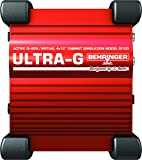 BEHRINGER ベリンガー スピーカーシミュレーション内蔵ギター用アクティブ DI ボックス GI100/ULTRA-G