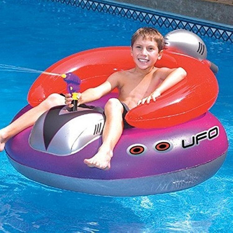 SL043 インフレータブル UFOフロート プール 浮き輪 子供用 [並行輸入品]