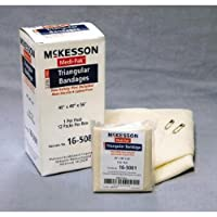mck16503001–McKessonブランド三角形バンデージmedi-pak Muslin 40x 40x 56インチ