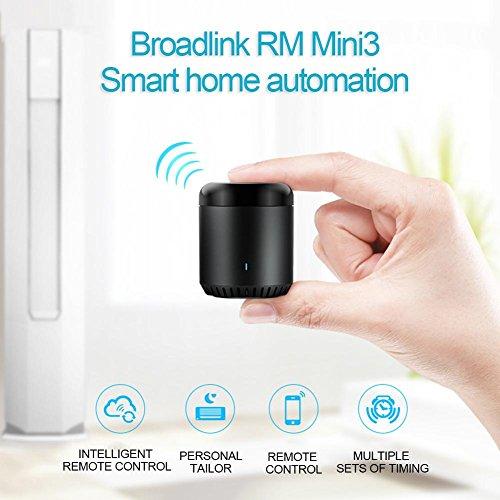 Mini3 BroadLink新しいRM IRコントロールハブスマートホームWi-Fi対応赤外線ユニバーサルリモコン1つすべてのコントロールTV用PVR VDO DVD AUD CD