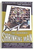 Incredible Shrinking Manムービーポスター冷蔵庫マグネット( 2.5X 3.5インチ)