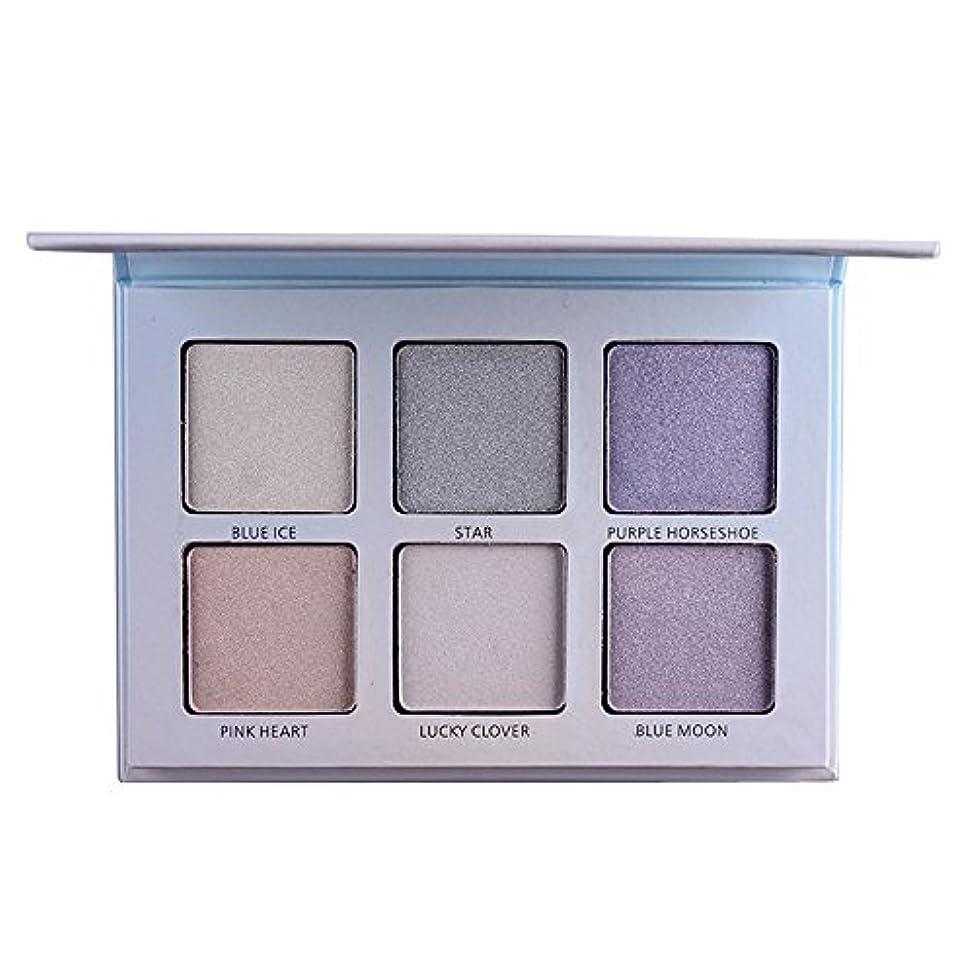 時折土地密接にAkane アイシャドウパレット MISS ROSE ファッション 人気 ハイライト 気質的 コンシーラー 綺麗 魅力的 チャーム 防水 長持ち おしゃれ 持ち便利 Eye Shadow (6色) 7003-044N