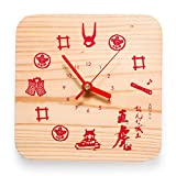 NHK大河ドラマ おんな城主 直虎「井の国時計」日本三大美林 天竜美林使用 置時計 NHKエンタープライズ承認済