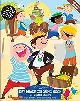 (Dry Erase Colouring Book) - The Piggy Story Pirates Ahoy ' Reusable Dry Erase Colouring Book