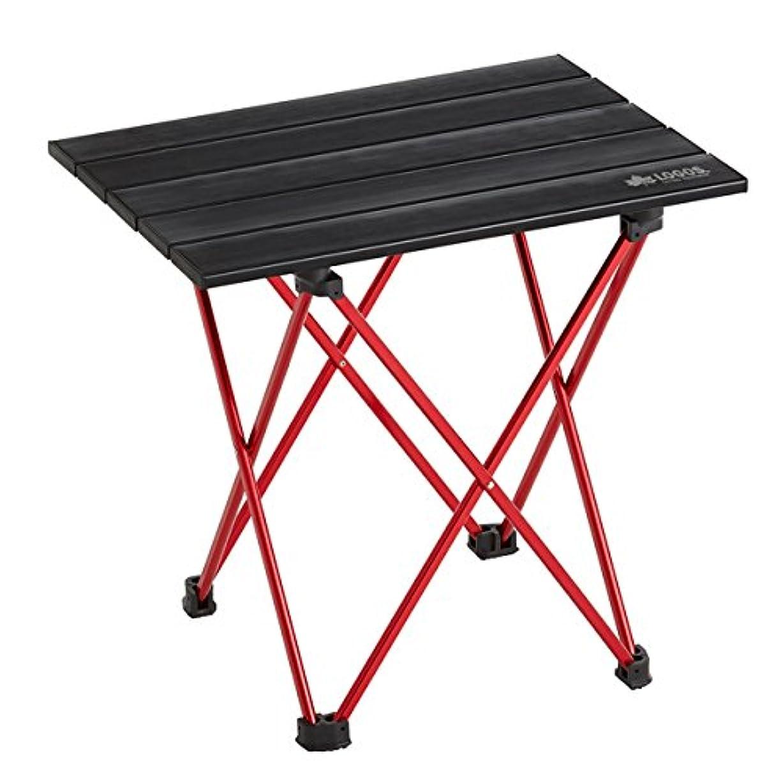 血色の良いバルセロナ年金受給者ロゴス アウトドア テーブル アルミトップテーブル 73175063