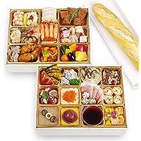 神戸バランスキッチン ビストロおせち 「ロザージュ」 洋風 2段重 3-4人前 (12月28日(金) お届け)