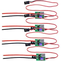 Crazepony? 4pcs ESC 6A with UBEC SBEC Brushless Speed Controller for MINI Race Quadcopter [並行輸入品]