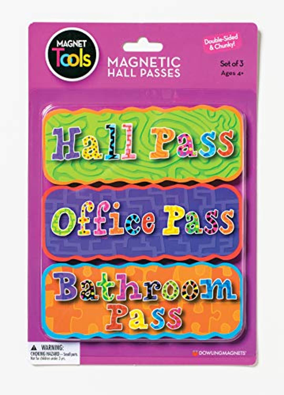 [ダウリングマグネット]Dowling Magnets Magnetic Hall Pass Set DO-735204 [並行輸入品]