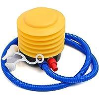 MyMei エアーポンプ 浮き輪・ビニールプール・ バランスボール・ヨガボール 空気入れ用 足踏み式ポンプ フットポンプ 携帯便利