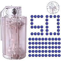 透明BB水爆弾+50個Nerf Rival対応交換用弾 水爆弾 戦術的 安全 キッズ おもちゃ ギフト 子供向け プラスチック製