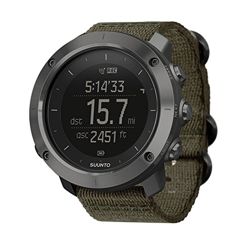 SUUNTO(スント) TRAVERSE スレート 【日本正規品】 時刻表示 GPS 気圧計 コンパス [メーカー保証2年]