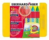 Eberhard Faber Waterproof Wax Crayon Plastic (box Of 10)