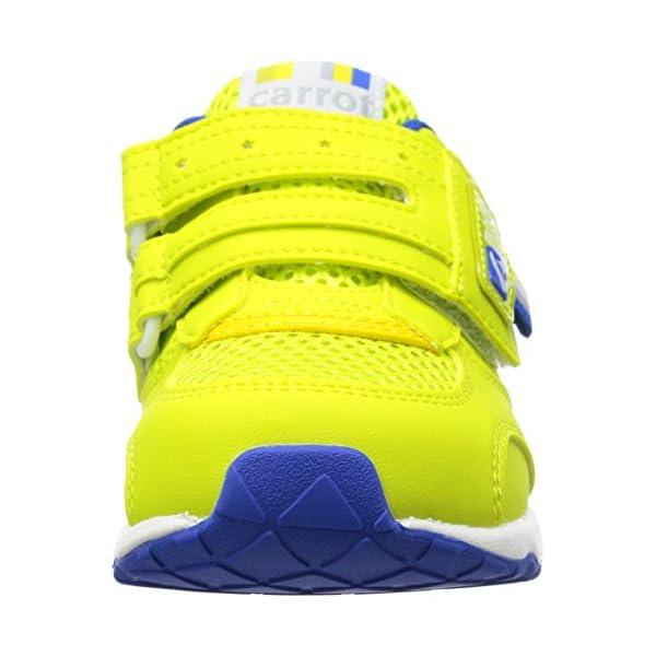 [キャロット] 運動靴 CR C2146 グリ...の紹介画像4