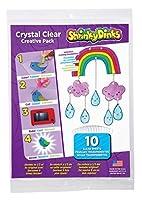 Shrinky Dinks Crystal Clear 10 Sheet Creative Pack [並行輸入品]