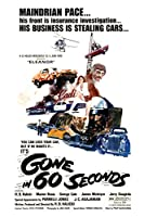 Gone in 60 Seconds映画ポスターまたはキャンバス 30 x 20