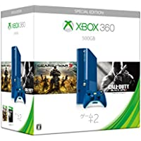 【Amazon.co.jp限定】 Xbox 360 500GB Blue Gears of War 3 & Call of Duty Black Ops II 同梱版 (3M6-00038)