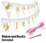 Happy Birthday Magicalユニコーンバナーペナント