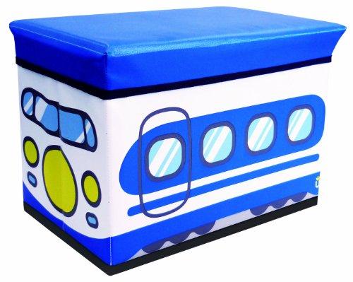 ユーカンパニー U-company ストレージボックス スツール シンカンセン 耐荷重80kg 座れる収納ボックス