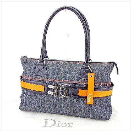 (ディオール)Dior トートバッグ ショルダーバッグ ハンドバッグ バッグ メンズ可 フライトライン 08-RU-1005 トロッター 中古 T2855
