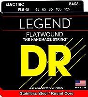 """DR Flat wound Bass""""LEGEND"""" ベース弦 DR-FL545"""