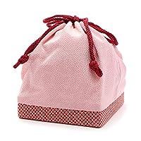 (キステ)Kisste 巾着 袴用 振袖用 縮緬 <鹿の子柄> 7-3-00301 【No.2】ピンク (00302)