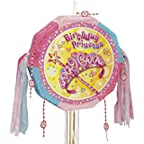 (Pinata) - Pretty Princess Drum Pull Pop-Out Pinata