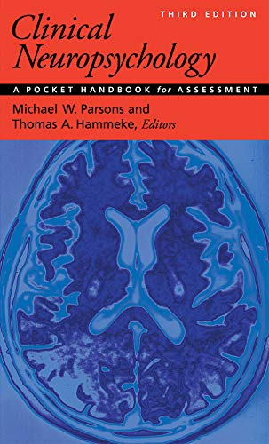 Download Clinical Neuropsychology: A Pocket Handbook for Assessment 1433816873