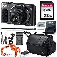 Canon PowerShot SX620 HS デジタルカメラ (ブラック) + プライムポイント&シュート トラベルアクセサリーキット