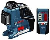 BOSCH(ボッシュ) レーザー墨出し器(受光器付き) GLL3-80PLR 【正規品】