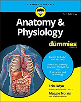 Anatomy and Physiology For Dummies (For Dummies (Math & Science)) by [Odya, Erin, Norris, Maggie A.]