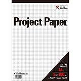 オキナ プロジェクトペーパーA4 5ミリ方眼罫100枚×5