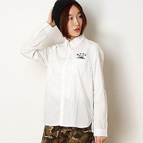 179/WG(179 WG) アニマル刺繍レギュラーシャツ【オフ×アライグマ/38】