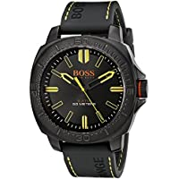 Hugo Boss Men's 1513249 Year-round Strap Analog Quartz Black Band Watch