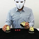 「うらら トリック 」 手品 マジック カップとボール玉(うららトリック制作 説明動画+ロゴ入り持ち運び用袋付)