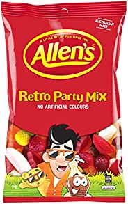 Allens Retro Party Mix Bulk Bag Lollies 1kg