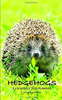 Hedgehogs 5 x 8 Weekly 2020 Planner: One Year Calendar