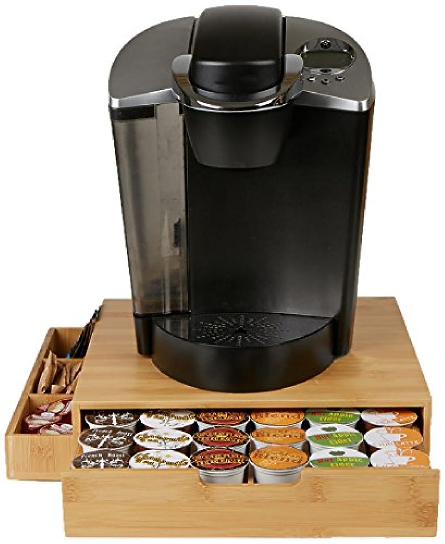 Mind Reader Keurig k-cup Coffee Podストレージ引き出し、Holds 36 K-cupポッド、ブラウン