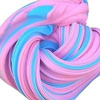 ハロウィン キッズ ふわふわフローム スライム パテ 耐久性 60ml 香り付き ストレス解消 子供用 粘土おもちゃ A ブラック aaa