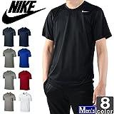 ナイキ(NIKE) メンズ ドライフィット レジェンド 半袖 Tシャツ 718834 1604 紳士 男性 010(ブラック×Mシルバー) M