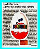 ★ポスター ★キンダー サプライズ チョコレート