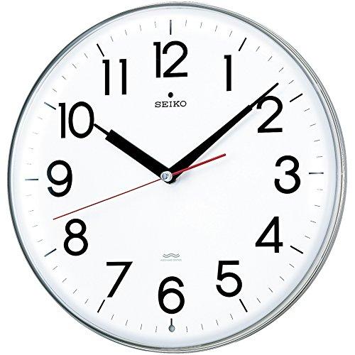 SEIKO CLOCK (セイコークロック) 掛け時計 電波 アナログ 白 KX301H
