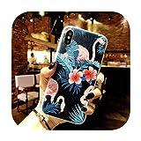 11 Pro高級3DシリコンケースiPhone 6 7 6 s 8プラス5 s SE X XS MAX XR耐衝撃性の花電話ケースiphone 6 7ケースガール-Flower 05-For iPhone 8 Plus