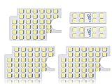 トヨタ 200系 ハイエース / レジアスエース 純白 LED ルームランプ キット デラックス DXグレード 4型 専用設計 ホワイト ライセンスランプ付き
