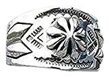 定価16200円 フラワースタンプ 925シルバー リング フリーサイズ 925 silver シルバー リング 指輪 ユニセックス 10ー25号まで調整可能