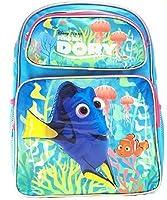 "Disney Finding Dory 17"" Large School Girls backpack-07607"